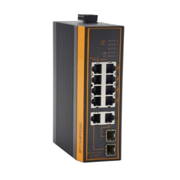 8 port 100Mbps POE industrial switch